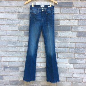 Frame Denim Jeans Le High Flare Columbus Stretch